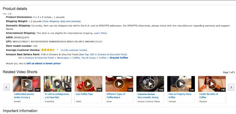 amazon related video shorts upload