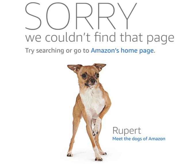 amazon listing becomes a dog